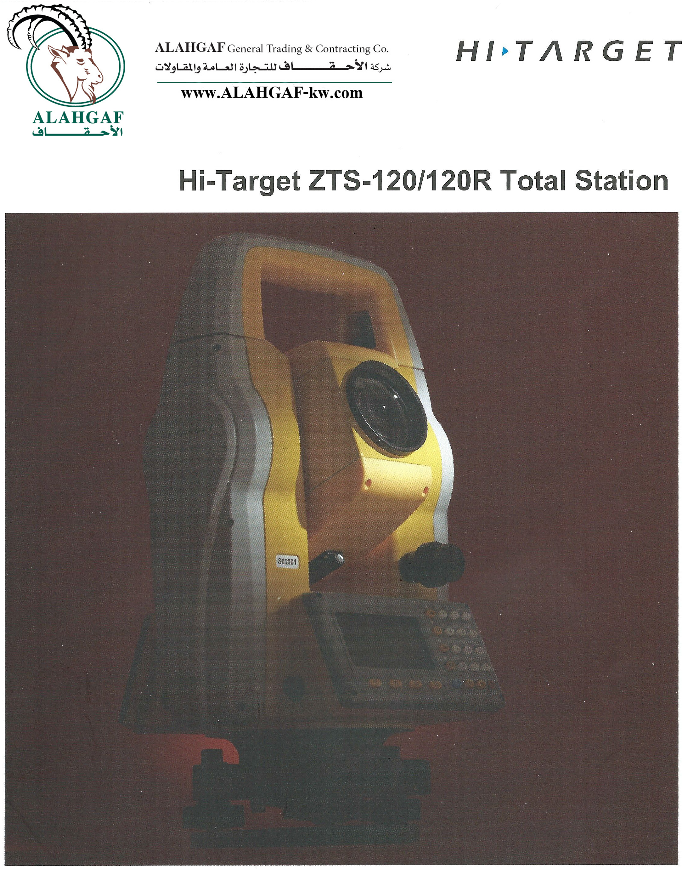 ZTS-120120R Total Station